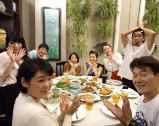 NLPペナン島合宿 夕食チャモロ料理