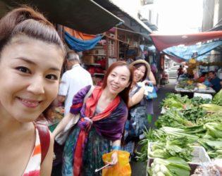 NLPペナン島合宿 朝の市場
